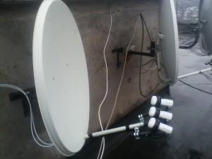 Спутниковая тарелка установка Днепропетровск
